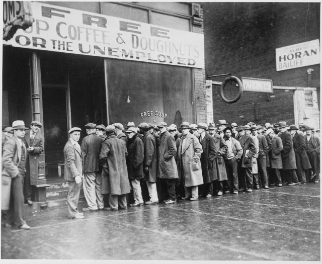 great depression, chicago